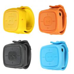 Mini USB MP3 Musik Medieafspillere Watch Shape Support 1-32GB Micro SD TF Kort