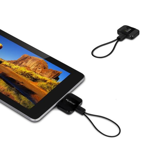 MyGica PT360 DVB-T2 Android TV-tuner Pad TV Få Mini USB DVB-T för Android Telefon Tablet PC Mediaspelare