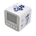 NIZHI R1B1 Mini Portable Multimedia Speaker Support MP3 Player USB TF Micro SD Card FM Radio Media Players