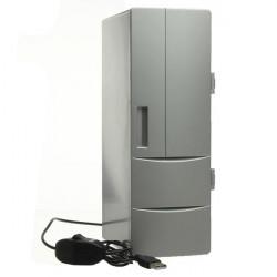 PC Laptop Mini USB Fridge Freezer Refrigerator Beverage Drink Cans Warmer Cooler