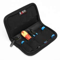 Portable BUBM 9 Pcs Protection Storage Case Bag For Battery Cable USB Flash Drive