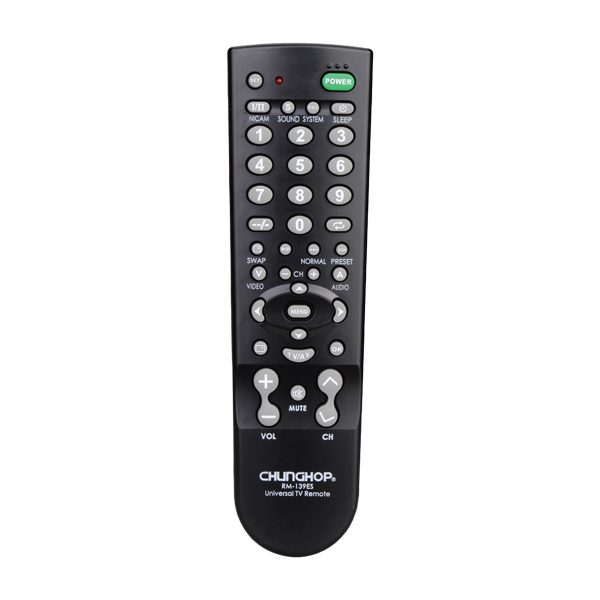 Portable Universal RM-139ES TV Remote Control Controller For TV Television Sets Media Players