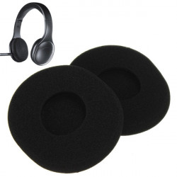 Replacement Sponge Ear Pads Earpad Cushion For Logitech H800 Headphones