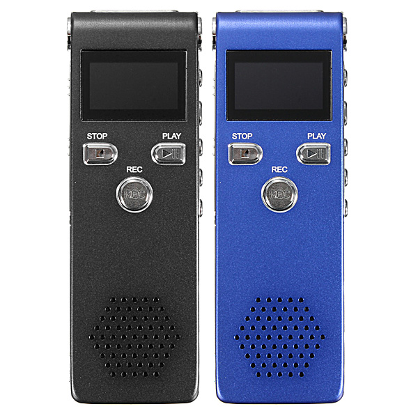 SK-015 Steal Double Marks Rechargeable 8GB 650HR Digital Audio Voice Recorder Dictaphone MP3 Player Media Players