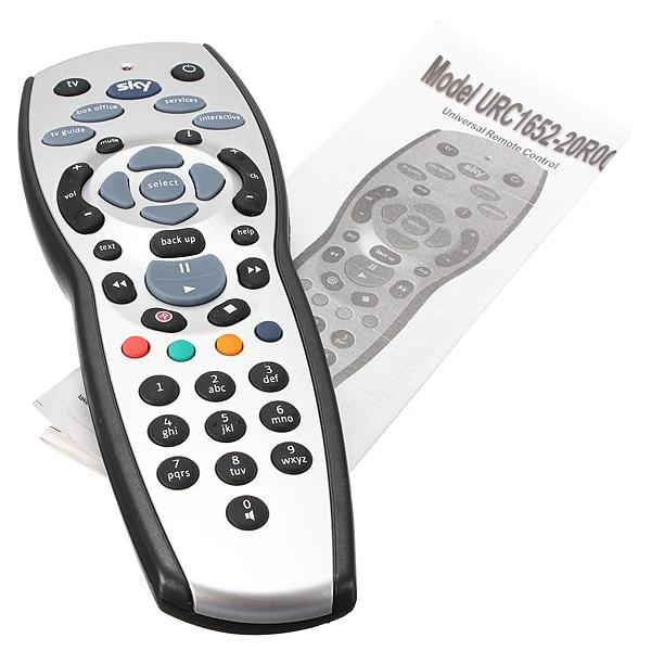 Standard Rev.9 TV Fjärrkontroll Kontroller Ersättare till Sky HD Box Mediaspelare