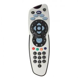 Standard Rev.9 TV Fjärrkontroll Kontroller Ersättning för Sky Plus + HD Box
