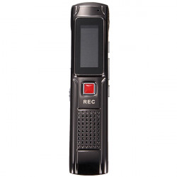 Steal 8GB 650HR Digital Audio Voice Recorder Rechargeable Dictaphone MP3 Player