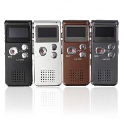 Stjäl Uppladdningsbart 4GB 650HR Digital Audio Diktafon MP3-spelare