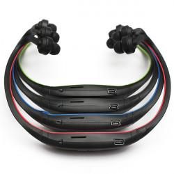 Stereo Sport Headset Headphone Earphone MP3 Player Micro SD TF Slot