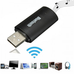 TS-BT35A03 3.5mm AUX USB Bluetooth Trådlös Stereo Audio Receiver Adapter Dongle för Bil Hem