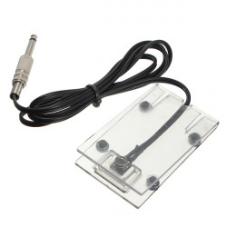 Transparent Acrylic Tattoo Machine Footswitch Power Supply