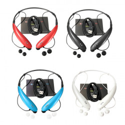 Universal HBS-800 Sports Trådløst Bluetooth Headset Stereo Tone Ultra for Cellphone