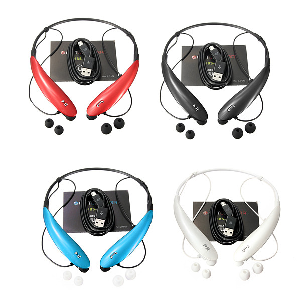 Universal HBS-800 Sports Wireless Bluetooth Headset Stereo Tone Ultra For Cellphone Media Players