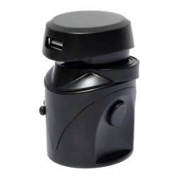 Universal World Travel Power Adapter Converter With USB Port Charger UK/US/EU/AU