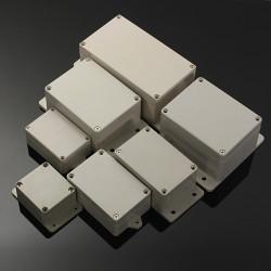 Wasserdicht Kunststoff elektronische Box Gehäuse Kasten Abdeckung Verschiedene Größen