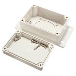 White Plastic Waterproof Electronic Case PCB Box 100x68x50mm