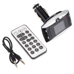 Drahtloser Bluetooth Auto MP3 Player FM Transmitter Hands Free USB SD MMC Remote Kit Media Player