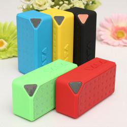 X3 Hands-Gratis Trådlöst Bluetooth Mini FM TF USB Blixt Drive Mic Bashögtalare