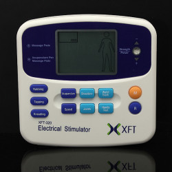 XFT-320 Electrical Stimulator Massager Dual Tens Machine Digital Massage