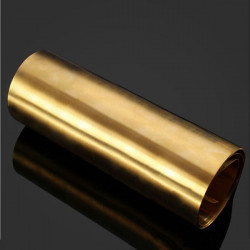 0.3x200x1000mm H62 Latten Lattin Brass Noten