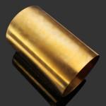 0.4x200x1000mm Lattennedfart Lattin H62 Messing Sheet Industrial & Videnskab