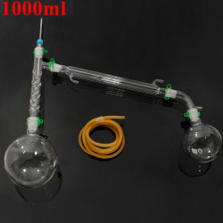 1000ml Vakuumdestillation Extract Kit 20/40 Joint Lab Glassatz