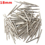 100pcs 18mm Stainless Steel Watch Band Spring Bars Strap Link Pins Industrial & Scientific