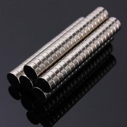 100stk N50 Starke Runde Scheibenmagneten Seltene Erden Neodym 8mmX3mm