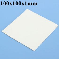 100x100x1mm Thermal Conductive Silikon Pad Film för GPU CPU Kylfläns