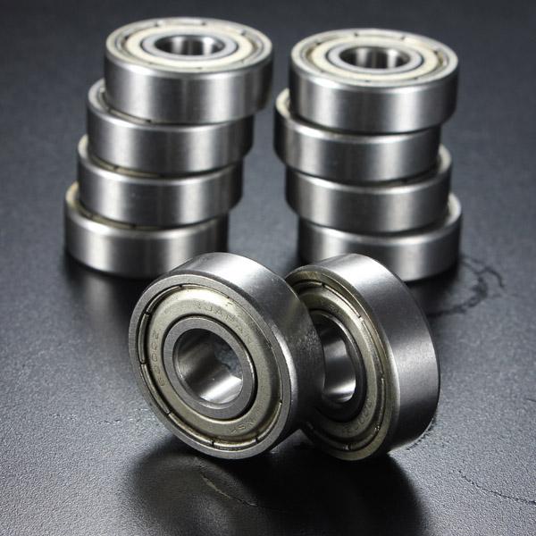 10st 10x26x8mm Metall Tätad Djupa Spår Kullager 6000-2Z 6000-ZZ Industri & Vetenskap