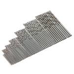 10Pcs Micro HSS Twist Drilling Bit Straight Shank for Electrical Drill Industrial & Scientific