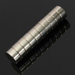 10Pcs N50 10x5mm Strong Round Cylinder Magnet Rare Earth Neodymium Magnet Industrial & Scientific
