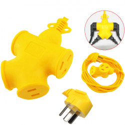 10m 220V Universal Creative Power Outlet Socket Strip Plug Adapter