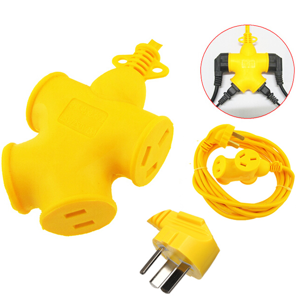 10m 220V Universal Creative Power Outlet Socket Strip Plug Adapter Industrial & Scientific