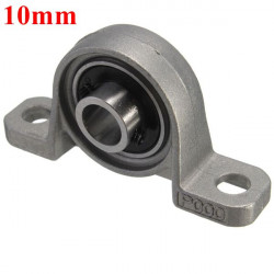 10mm Boring Diameter Pillow Block Mounted Kugleleje KP004 Zinc Alloy