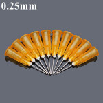 10stk 0.25mm Diameter Universal Blunt Tip Fyld Needle for Syringe Injector Industrial & Videnskab