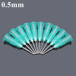 10stk 0.5mm Diameter Universal Blunt Tip Fyld Needle for Syringe Injector Industrial & Videnskab
