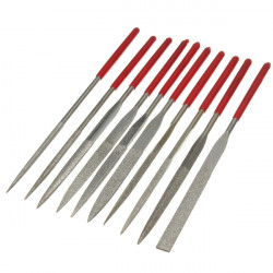 10pcs Diamond Needle File Rasp Set For Jewelery Glass Jade Grinding