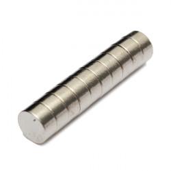 10st N35 Disc Magnet 12x4mm Craft Modell Jordartsmetaller Neodym