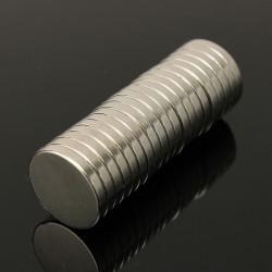 10st N50 Starka Rund Skiva Magneter Jordartsmetaller Neodymium 20mm X 3mm