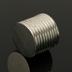 10st N50 Stark Rund Skiva Jordartsmetaller Neodymmagneter 15mmx1.5mm