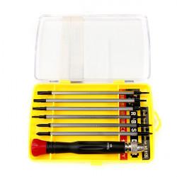 12 i 1 Professionell Skruvmejsel Kit Reparation Handverktyg Set för PC Phone