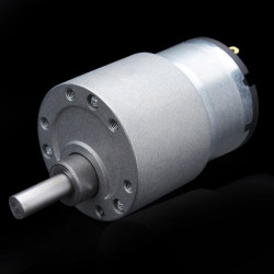 12V DC Metall Gear Reducer Motor med Högt Vridmoment DC Växellåda Motor