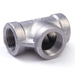 1/2 inch 304 Stainless Steel Pipe Fitting Threaded Biodiesel 3 Way Industrial & Scientific
