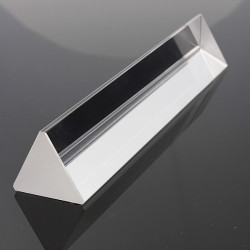 15cm Fysik Optical Glass Triple Trekantet Prism