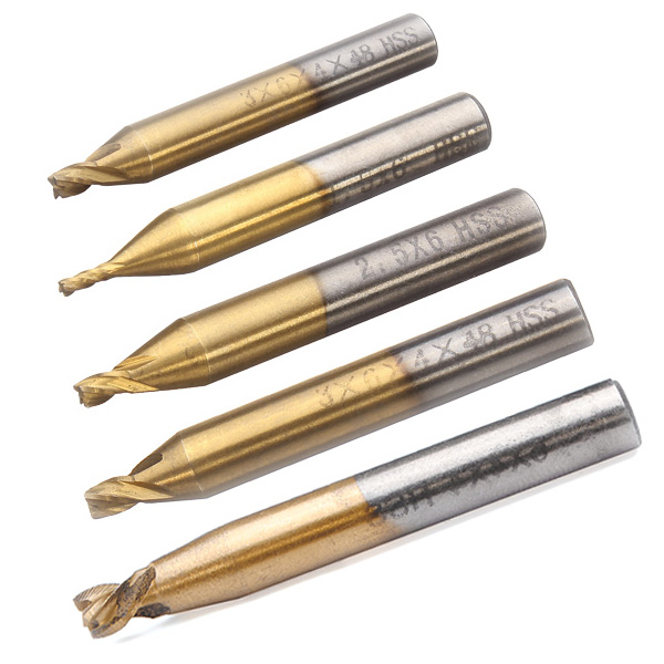 1.5mm-4mm Titanizing Milling Cutter for Key Cutting Machine Industrial & Videnskab