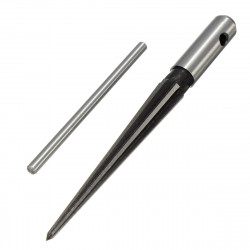 1/8 -1/2 Inch 6 Musselmalet Bridge Pin Hole Reamer Tapered Træbearbejdning Tool