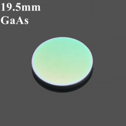 19.05mm Diameter GaAs Focus Lens för CO2 Laser Gravör 50.8mm / 63.5 Mm