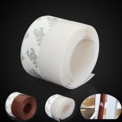 1M Window Silicone Rubber Sealing Sticker Seal Strip 3M Selvklæbende