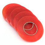 1 Roll Heat Resistant Dobbeltsidet Transparent Klar Tape Industrial & Videnskab